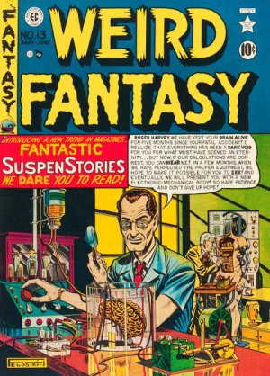 Weird Fantasy édition Issues V1 (1950 - 1951)