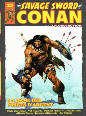 The Savage Sword of Conan # 23