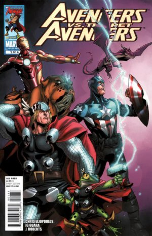 Avengers vs. Pet Avengers édition Issues