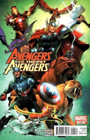 Avengers vs. Pet Avengers # 4 Issues