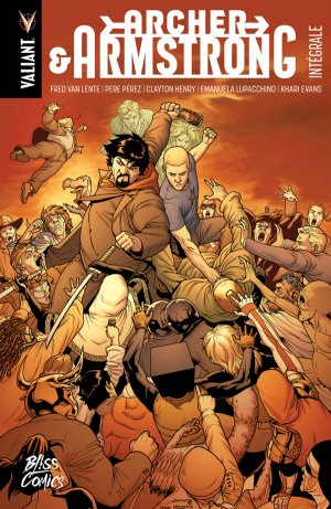 Archer and Armstrong # 1