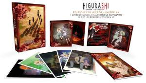 Higurashi no Naku Koro Ni - saison 1  Collector DVD Intégrale S1-2-3