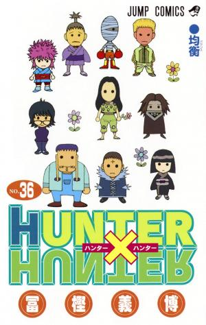 couverture, jaquette Hunter X Hunter 36  (Shueisha)