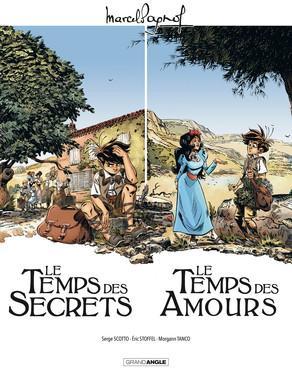 Marcel Pagnol - Le temps des amours  Ecrin 2 albums