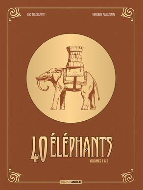 40 éléphants  Ecrin 2 albums