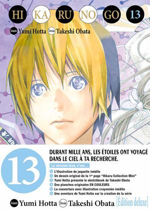 couverture, jaquette Hikaru No Go 13 Deluxe (Tonkam) Manga