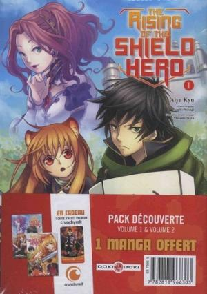 The Rising of the Shield Hero édition Pack découverte