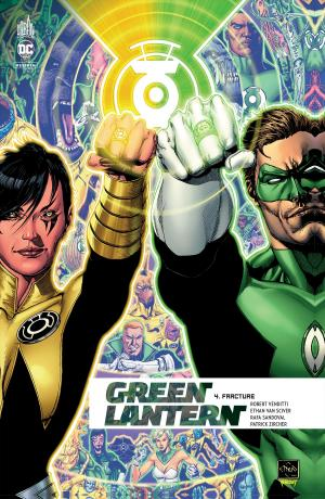 Green Lantern Rebirth 4 TPB hardcover (cartonnée)