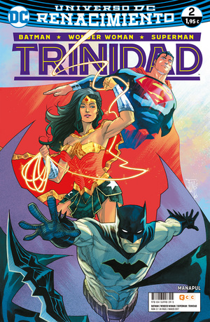 DC Trinity édition Issues V2 - Rebirth (2016 - 2018)