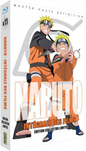 Coffret Naruto 11 Films 1 Collector