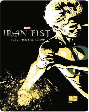 Iron Fist édition Steelbook Zavvi