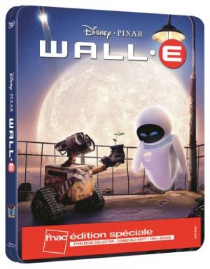 WALL·E édition WALL-E Steelbook Edition spéciale Fnac Blu-ray
