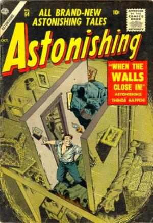 Astonishing édition Issues (1951 - 1957)