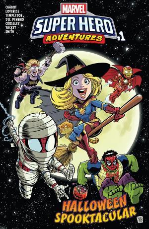 Marvel Super Hero Adventures - Captain Marvel - Halloween Spooktacular édition Issue (2018)