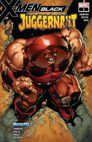 X-Men - Black - Juggernaut # 1 Issue (2018)