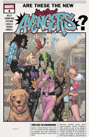 West Coast Avengers # 4 Issues V3 (2018 - 2019)