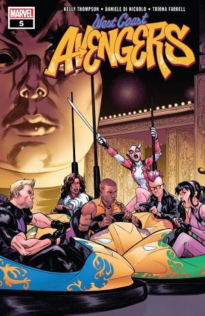 West Coast Avengers # 5 Issues V3 (2018 - 2019)