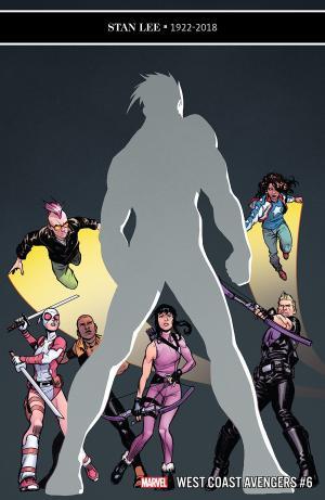 West Coast Avengers # 6 Issues V3 (2018 - 2019)