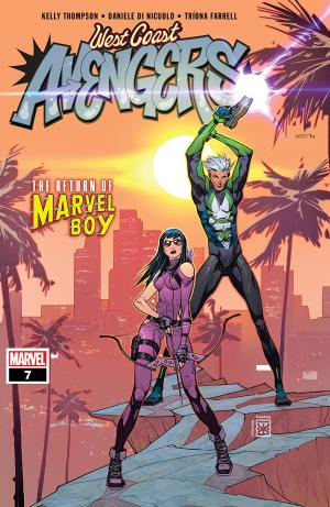 West Coast Avengers # 7 Issues V3 (2018 - 2019)