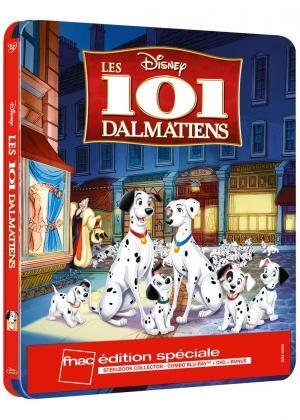 Les 101 Dalmatiens édition Limitée exclusive FNAC  SteelBook
