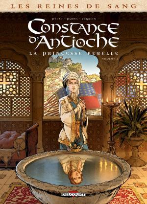 Les reines de sang - Constance d'Antioche, la princesse rebelle 1 simple