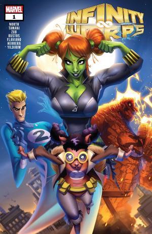 Infinity Wars - Infinity Warps # 1 Issues (2018)