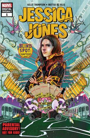 Jessica Jones édition Issues V3 - Marvel Digital Original (2018)