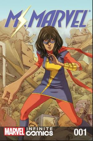 Ms. Marvel - Garden State of Mind édition Ìssues (2018)