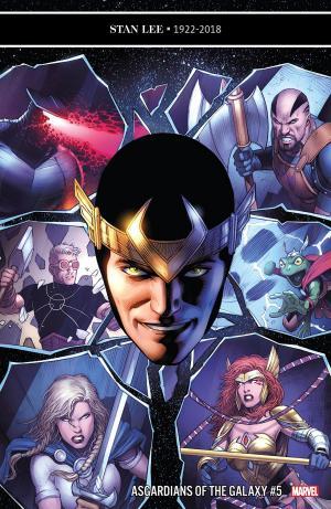 Les Asgardiens de la Galaxie # 5 Issues (2018 - 2019)