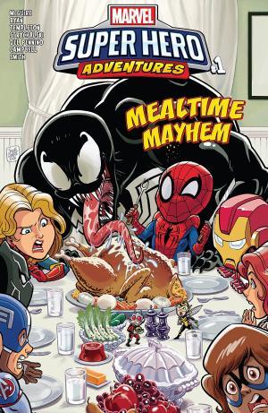 Marvel Super Hero Adventures - Captain Marvel - Mealtime Mayhem édition Issue (2018)