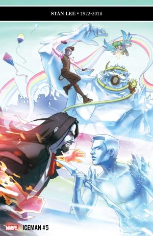 Iceman # 5 Issues V4 (2018 - 2019)