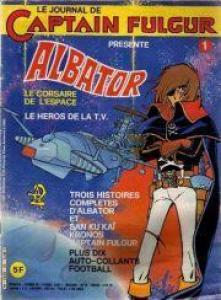 Le journal de Captain Fulgur - Albator