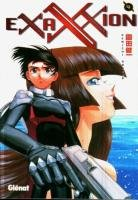 couverture, jaquette Exaxxion 4  (Glénat Manga)