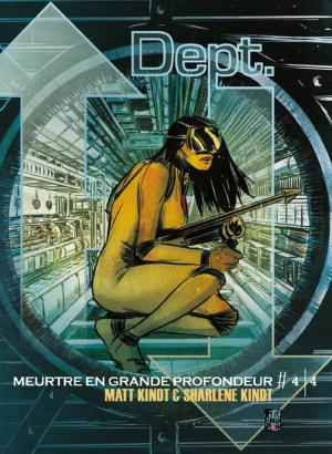Dept. H - Murder Six Miles Deep 4 TPB hardcover (cartonnée)