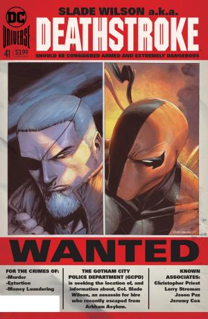 Deathstroke # 41 Issues V4 (2016 - 2019) - Rebirth