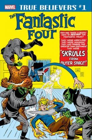 True Believers - Fantastic Four - Skrulls édition Issue (2018)