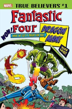 True Believers - Fantastic Four - Dragon Man édition Issue (2018)