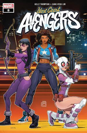 West Coast Avengers # 8 Issues V3 (2018 - 2019)
