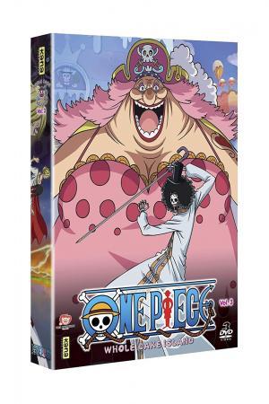 One Piece 3 DVD - Saison 15 Whole Cake Island