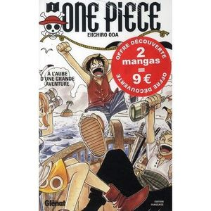 One Piece édition pack 1+2 2009