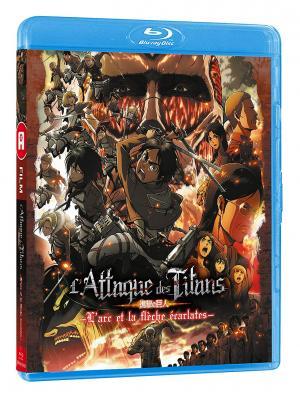 L'attaque des titans - L'arc et la flèche écarlates  Blu-ray simple