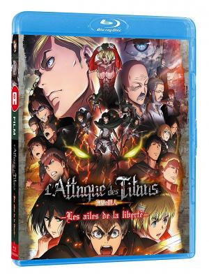 L'attaque des titans - Les ailes de la liberté édition Blu-ray simple