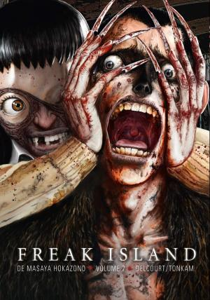 couverture, jaquette Freak island 7  (Delcourt Manga) Manga