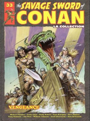 The Savage Sword of Conan 33 TPB hardcover (cartonnée)