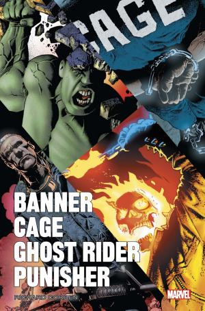 Banner / Cage / Ghost Rider / Punisher par Corben