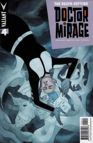 Death Defying Doctor Mirage # 4 Issues
