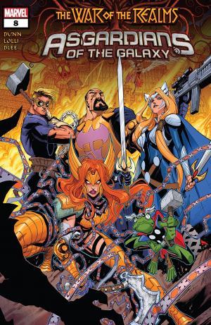 Les Asgardiens de la Galaxie 8 Issues (2018 - 2019)