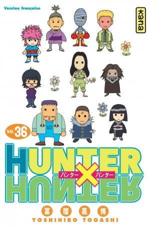 Hunter X Hunter 36 Simple
