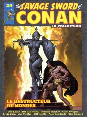 The Savage Sword of Conan 34 TPB hardcover (cartonnée)