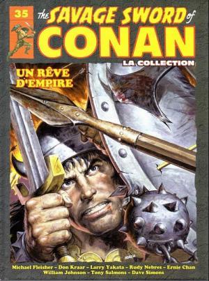 The Savage Sword of Conan 35 TPB hardcover (cartonnée)